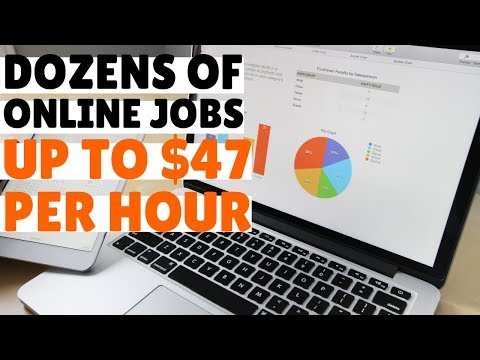 Companies ALWAYS Hiring For Work-From-Home Jobs (up To $47/Hour)