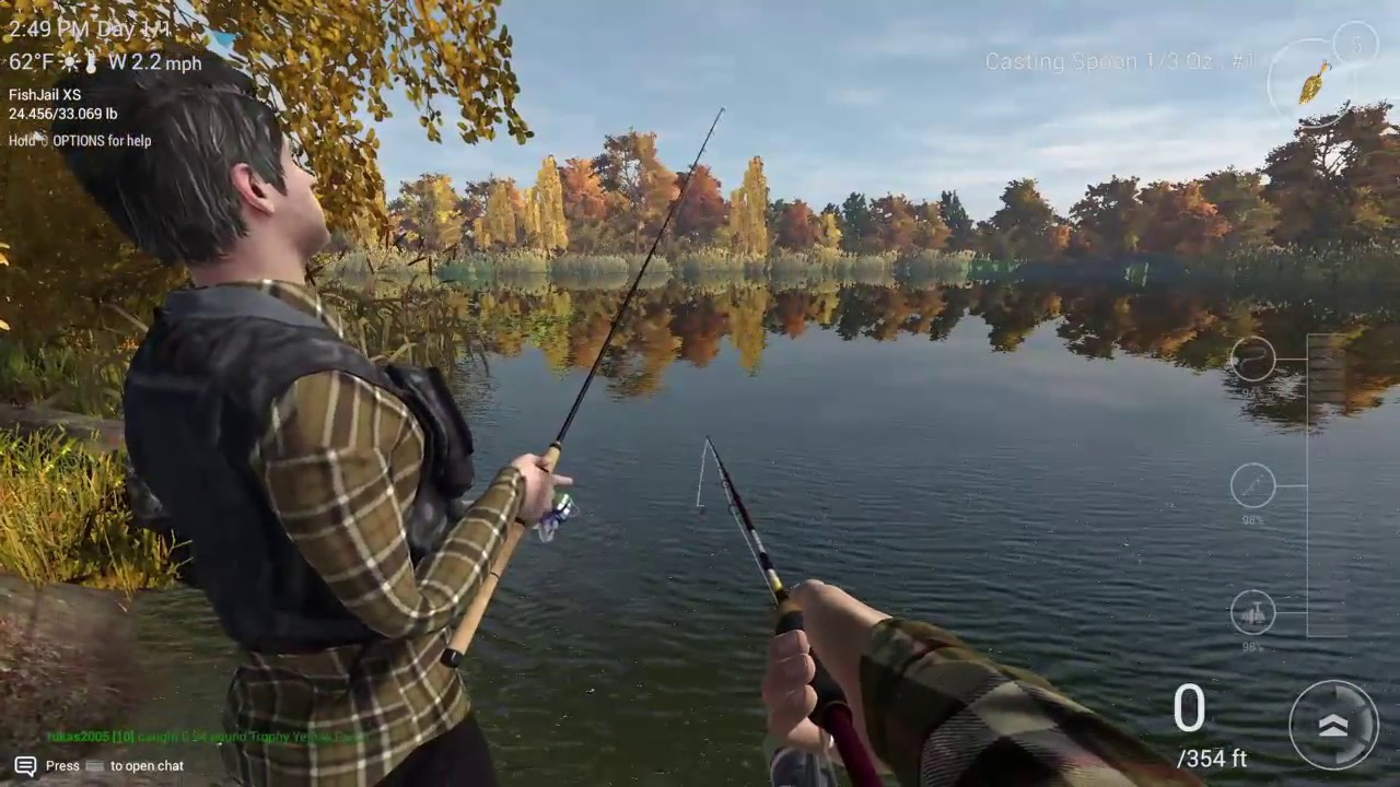 Fishing planet ps4 pike fishing youtube for Fishing planet ps4