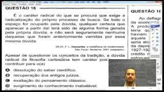 Correção ENEM 2014 - Filosofia