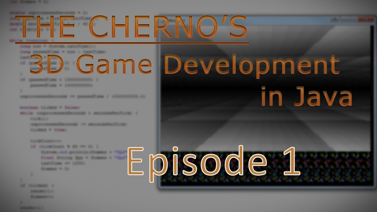 3d game programming episode 1 window youtube baditri Image collections