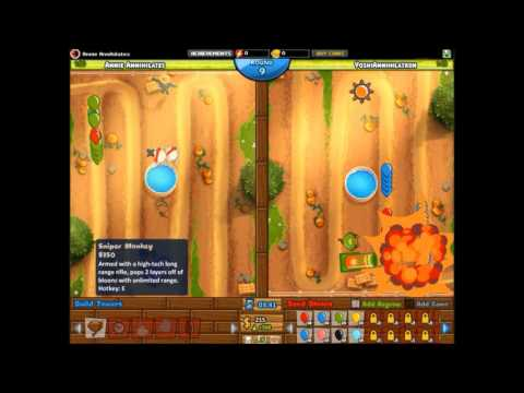 Bloons TD Battles | How to Beat Lead Camo Bloons | Starting Towers Only