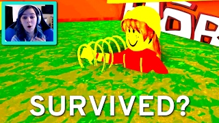 ROBLOX SURVIVE THE NATURAL DISASTERS 2 GAMEPLAY | RADIOJH SPIELE MIT FACECAM