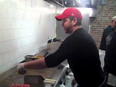 Evan Stein of Shorty's Makes a Philly Cheesesteak