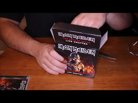 Iron Maiden- The Book Of Souls: Live Chapter Walmart Exclusive Unboxing