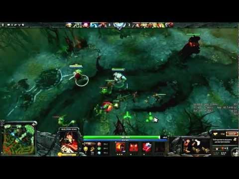 видео: learn & play: Герой для новичков dota 2 - skeleton king