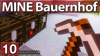 MINE Bauernhof #10 TIERFALLE Lets Play LITW