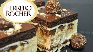 ТОРТ Ферреро Роше Взрыв вкуса и аромата Шоколадный торт безе