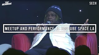 Sech - Meetup and Performance at YouTube Space LA