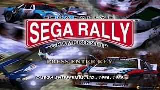 Sega Rally 2 Championship gameplay (PC Game, 1999)