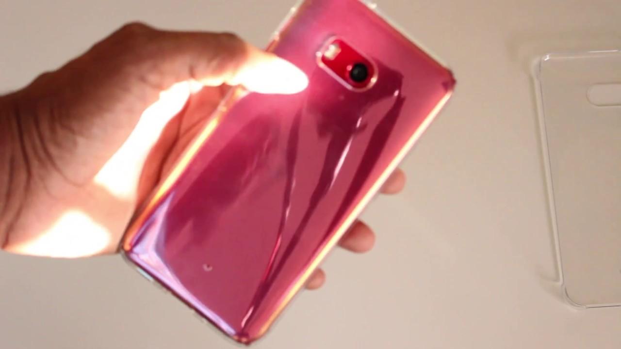 low priced 841f8 1be8d HTC U11 Spigen Liquid Crystal Case