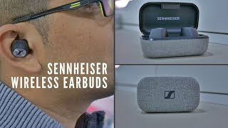 Sennheiser Momentum True Wireless Earphones Unboxing, Demo & Impressions