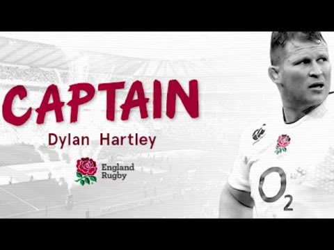 Dylan Hartley named England captain