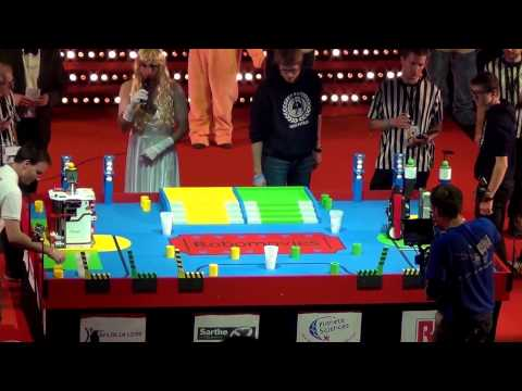 2015 - OMYBOT vs RCVA - Coupe de France Robotique 2015