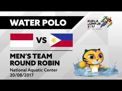 KL2017 29th SEA Games   Men's Water Polo - INA 🇮🇩 vs PHI 🇵🇭