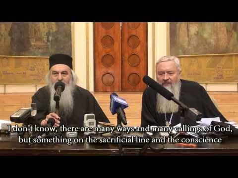 Fr. Rafail Noica - An advice for students in Theology / Sfat pentru tinerii teologi