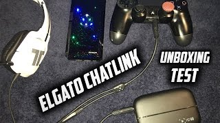 Gambar cover ELGATO CHAT LINK CABLE UNBOXING & SETUP on PS4! (Record Party Chat and Your Voice Together) (HD60)