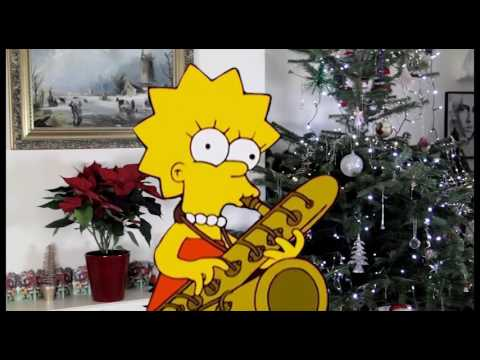 Wish It Could Be Christmas - Lisa Simpson & Roger sax duet from YouTube · Duration:  2 minutes 42 seconds