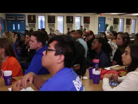 RISE Leadership Program - Hollywood Hills High School - Florida - Nat Moore (6-6-17)