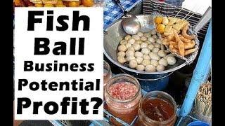 Fish Ball, Kikiam, Squid Ball How BIG is the profit per pack???   Filipino Street Food