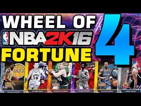 Wheel of NBA 2K Fortune 4: FINAL EDITION