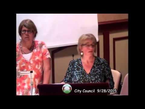 Lebanon, Indiana City Council - 9/28/15