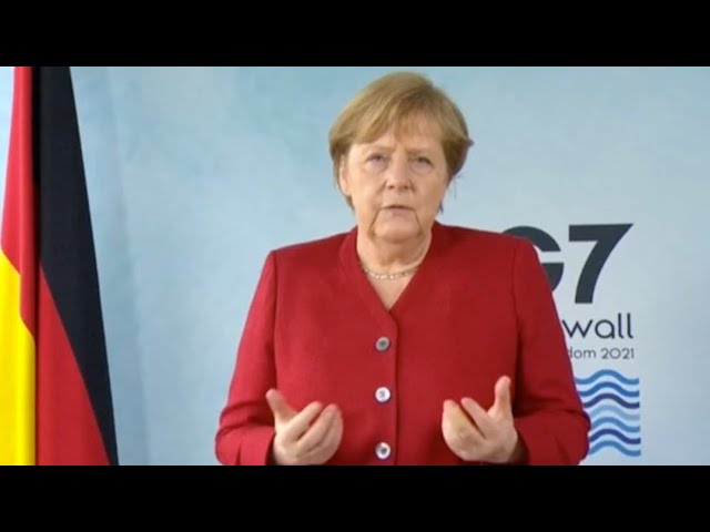 G7 Summit: Merkel says issues like climate change could not be solved without China