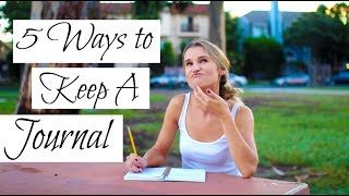 How to Keep A Journal