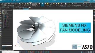 Siemens NX Fan Modeling