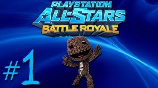 PlayStation All Stars Battle Royale | Historia - Sackboy - PARTE 1 (Gameplay/Walkthrough) [PS3]