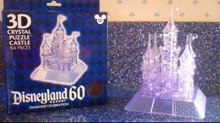 Disneyland's 3D Crystal Puzzle Castle (tutorial)