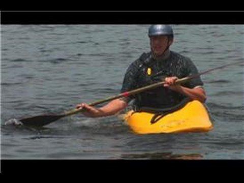 Kayaks : How to Eskimo Roll a Kayak