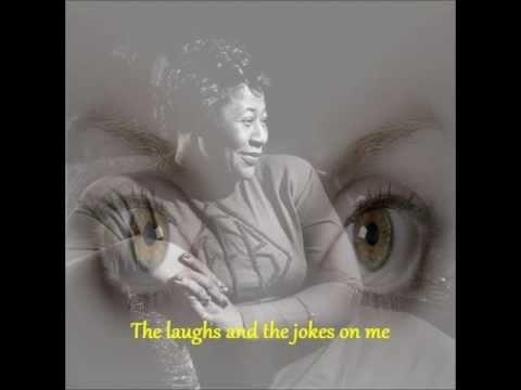 Ella Fitzgerald - Angel Eyes - Lyrics