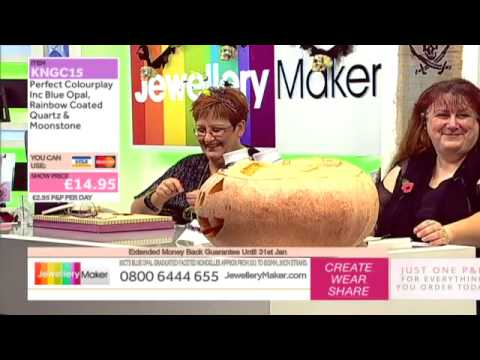 Halloween On Jewellery Maker - JewelleryMaker LIVE (AM) E 31/10/2014