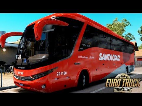 Euro Truck Simulator 2 Mod Bus | Santa Cruz - São Paulo/Bauru - Logitech G27