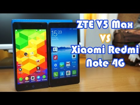 Comparativa ZTE V5 Max vs Xiaomi Redmi Note 4G
