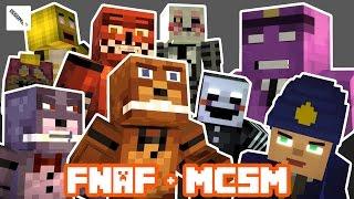 Play as FNAF Freddy! FULL Minecraft Story Mode Episode 8 (FNAF Theme)