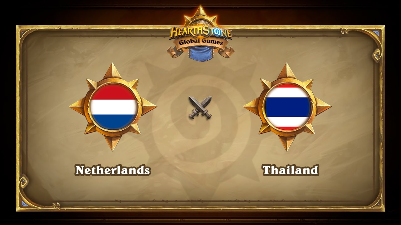 Netherlands vs Thailand, Hearthstone Global Games Group Stage