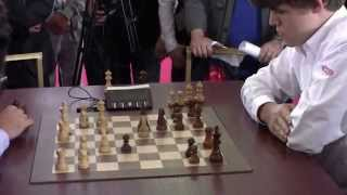 GM Morozevich (Russia) - GM Carlsen (Norway)