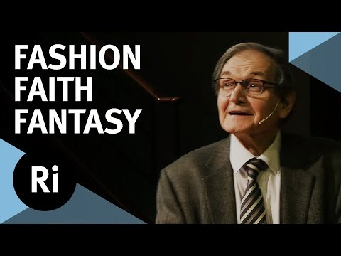 Fashion, Faith and Fantasy in Physics - with Roger Penrose