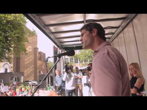 National Gaza Demonstration Dublin Trevor Hogan Speech