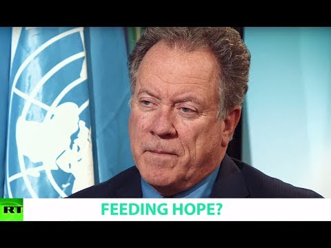 FEEDING HOPE? Ft. David Beasley, Executive Director of the W