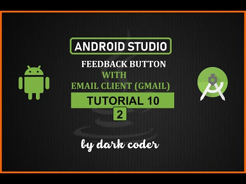 Dark Coder | Feedback App with Email Client | Android Studio Tutorial 10.2