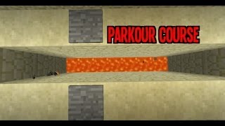 How To Build A Parkour Course In Minecraft Part 1 - Tutorial