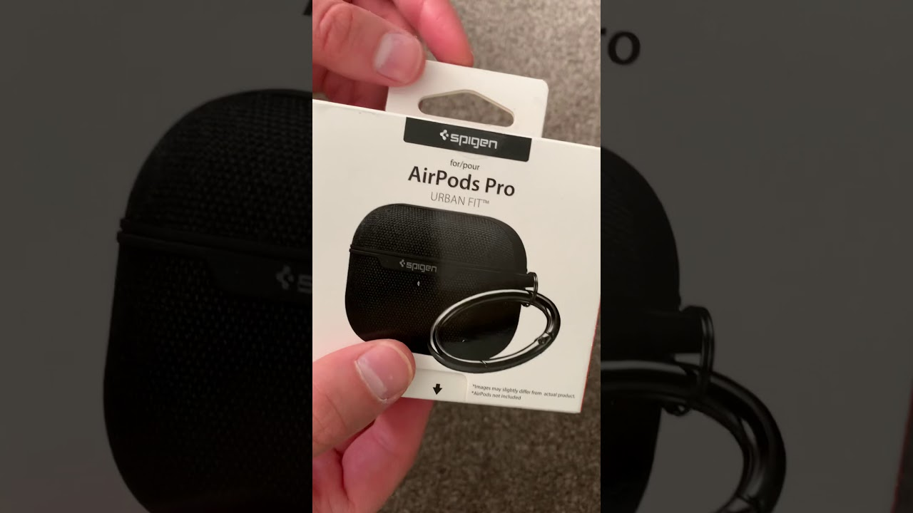 Spigen Urban Fit Case For Apple Airpods Pro Review 2020 Youtube