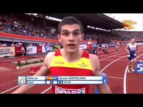 Final 200m Masculino Atletismo Cto. Europa Aire Libre Amsterdam 2016