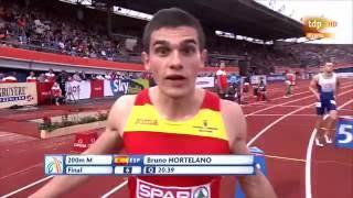 Final 200m Masculino Atletismo Cto Europa Aire Libre Amsterdam 2016