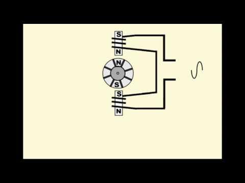 Motor induction squirrel principle cage working Squirrel Cage