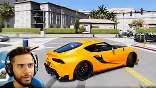 DRIFTING MY NEW 2020 SUPRA! (GTA 5 Real Life Mods)
