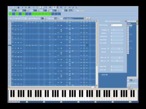 MIDI Tracker 2017  - Table-based MIDI Music Sequencer