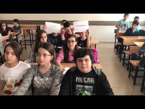 Öğrencilerden Fen Bilimleri Dersi Ses Şarkısı